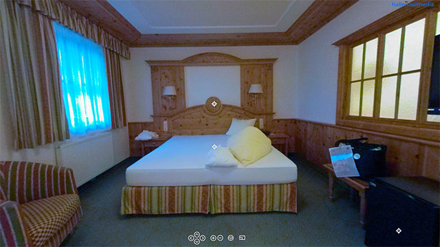 360 Grad: Hotelzimmer